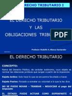 El Derecho Tributario y Las Obligaciones 2011 Udla - Echaurren