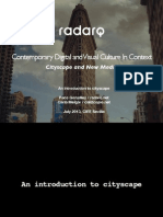 An introduction to cityscape | Contemporary Digital and Visual Culture In Context