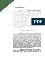 Iniciativa Acuerdo Coordinación Metropolitana