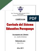 Currículo del Sistema Educativo Paraguayo