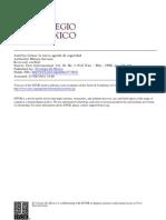 America Latina La Nueva Agenda de Seguridad