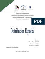 Distribucion Espacial Trabajo