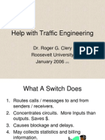 Help With Traffic Engineering