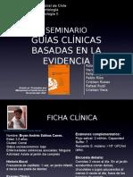 Guías Clínicas basadas en la evidencia