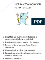 VENTAJAS DE LA CATALOGACION DE MATERIALES.pptx