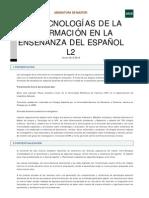 Tecnologías de la información en la enseñanza del español L2