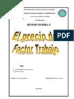 El Precio Del Factor Trab. Micro