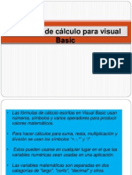 Formulas de Calculo Para Visual Basic