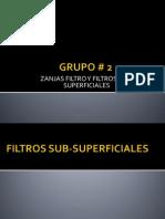 Zanjas Filtro y Filtros Superficiales.