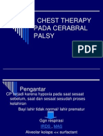 Chest Therapy Pada Cerabral Palsy
