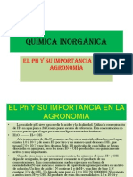 Eqilibrio de Acido Base Inorganica