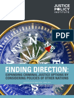Justice Policy Institute - Finding Direction