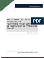 Tradiciones Orales de Huancavelica