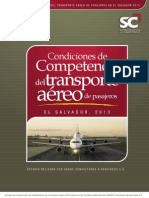 Estudio competencia Transporte Aéreo de Pasajeros