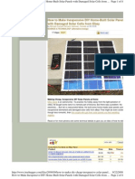 DIY Solar Panels HOW TO