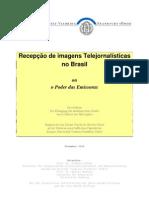 Recepção de imagens Telejornalísticas - OLIVEIRA