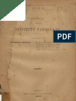 REVISTA DEL INSTITUTO PARAGUAYO Nro 26 - PORTALGUARANI