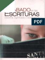 Alberto r. Timm. El Sabado en Las Escrituras.