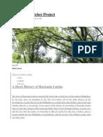 Hacienda Luisita Inc. History