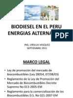 Biodiesel en El Peru
