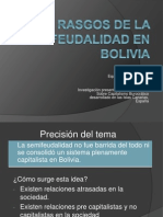 semifeudalidad en Bolivia_Exposición