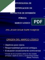 1. Marco Logico