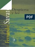 Savater, Fernando - Despierta y Lee[1]
