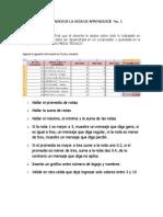 Taller Evaluativo Excel