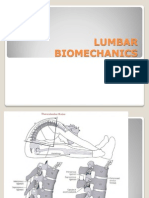 Lumbar Biomechanics