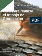 Guia Para Realizar El Trabajo de Graduacion