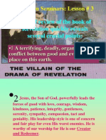 Lesson 3 Revelation Seminars -The Villain of the Drama of Revelation