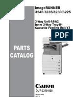 Catalogo de Partes Canon 3245