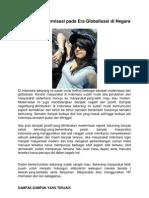 Pengaruh Modernisasi Pada Era Globalisasi Di Negara Indonesia