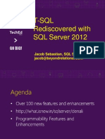 T SQL Rediscovered With SQL Server 2012