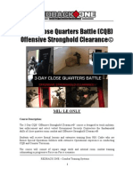 3-Day CQB Description1 combat training systems