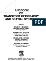 Handbook of Transport Geography