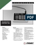 Station Ten - Spec Sheet 65
