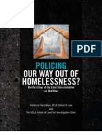 Wolch 2007 Report Card Policing Homelessness