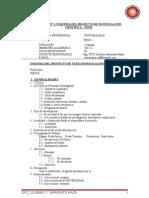 Modulo N° 1 - Esquema del Proyecto de  Tesis (Investigación Cientifica)