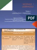 Liderazgo y Persona (Tema 1)