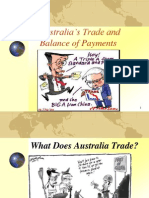 Australia's Trade and Balance of Payments