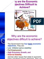 Why Are Economic Objectives Difficult to Achieve