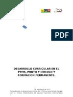 Desarrrollo Curricular Del Ptms y Punto y Circulo