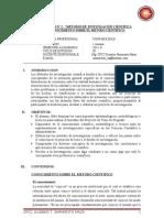 Modulo N° 2-Metodos de Investigación -CONOCIMIENTO METODO CIENTIFICO