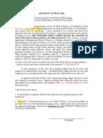 Affidavit or Trust Res.doc