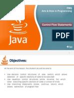 Java-Control Flow Statements