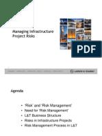 Mr k Ramakrishnan Managing Infrastruc Proj Risk