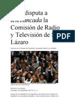 PRD disputa a telebancada la Comisión de Radio y Televisión de San Lázaro