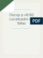 Oscop p v6.60 Fault Locator_e50417-h1078-c354-A1_es