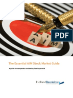 The Essential AIM Stock Market Guide